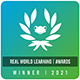 Real World Learning Awards Winner 2021 logo