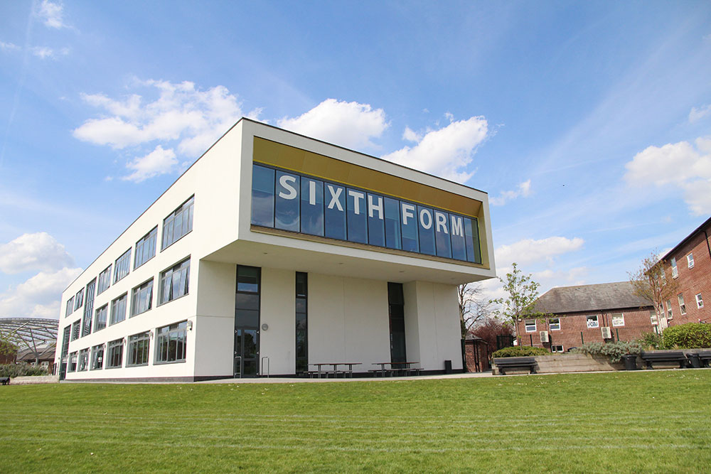 Whalley Range Sixth Form Centre building
