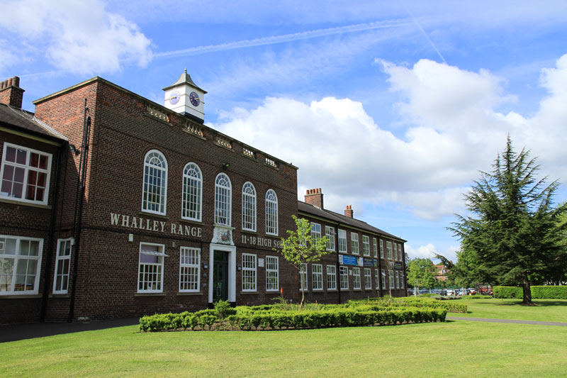 Whalley Range 11-18 High School building