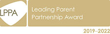 Leading Parent Partnership Award 2019-2022 logo